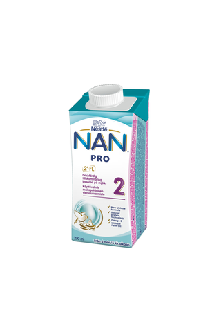 Nestlé Nan 200ml Pro 2 maitopohjainen käyttövalmis vierotusvalmiste