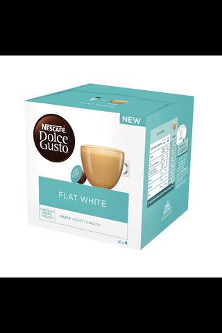 Nescafé Dolce Gusto 16kaps/187,2g Flat white maitokahvikapseli