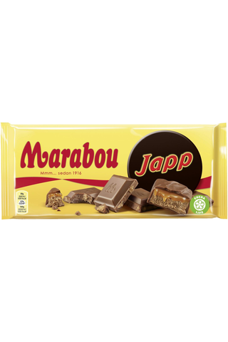 Marabou Suklaalevy Japp 185g