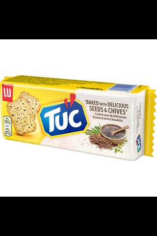 TUC Seeds&Chives suolakeksi 105g
