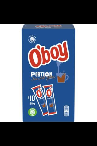 O'boy 10x28g annospussi kaakaojuomajauhe