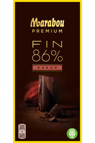 Marabou Premium 100g Fin 86% Kakao suklaalevy