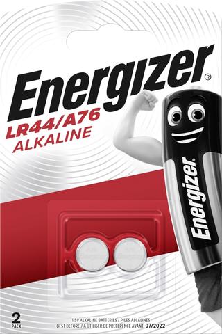 Energizer nappiparisto LR44/A76 alkali 1,5V 2kpl