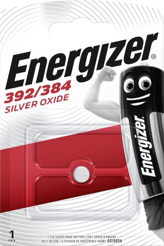 Energizer nappiparisto 392/384 hopeaoksidi 1,55V