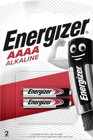 Energizer alkaliparisto AAAA/LR61 1,5V 2kpl