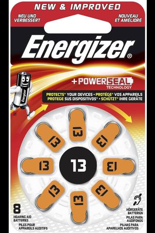 Energizer kuulokojeparisto 13 8kpl