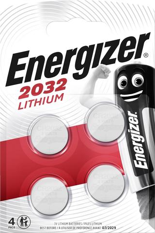 ENR Lithium CR2032 4-pack paristo