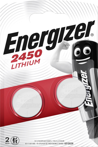 ENR CR2450 Lithium 2-pack paristo