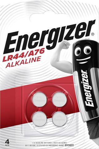 Energizer Alkali LR44/A76 4kpl paristo