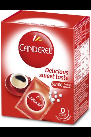 Canderel 500kpl/42,5g Täyttöpakkaus makeutuspuriste