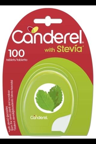 Canderel 8,5g 100kpl stevia-sukraloosi makeutusainepuriste