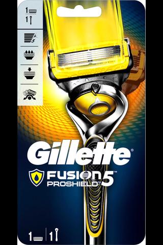 Gillette Fusion5 Proshield Flexball partahöylä