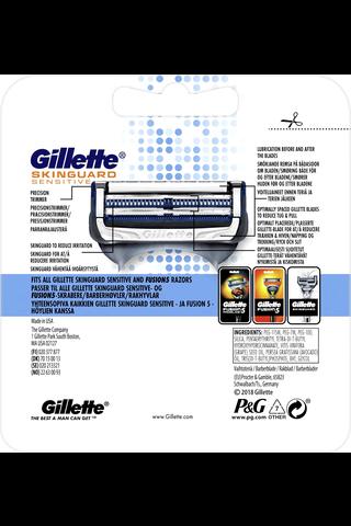 Gillette 4kpl Skinguard Sensitive terä