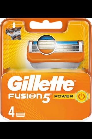 Gillette 4kpl Fusion5 Power terä