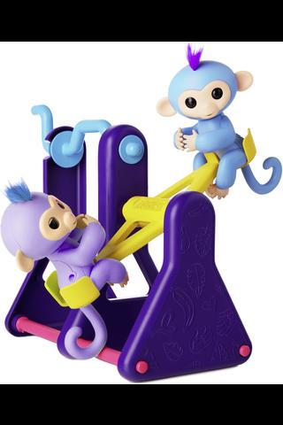 Fingerlings Keinulauta ja 2 apinaa