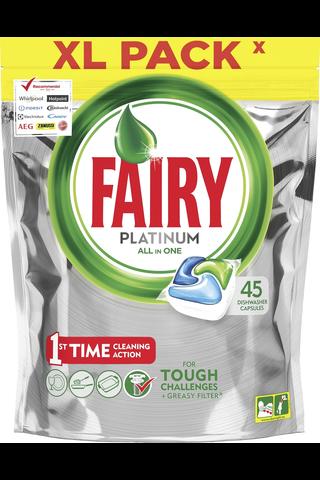 Fairy 45kpl Platinum All in One Original konetiskitabletti