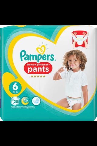 Pampers Premium Protection Pants housuvaippa S6 15+kg 28kpl
