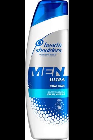head&shoulders 225ml Men Ultra Total Care shampoo