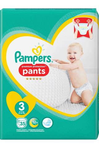Pampers Premium Protection Pants housuvaippa S3 6-11kk 35kpl