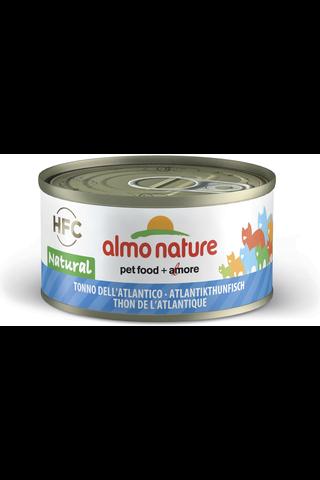 Almo Nature 70g HFC Natural Atlantin tonnikala märkäruoka kissoille