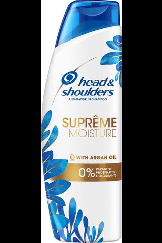Head & Shoulders 225ml Supreme Moisture shampoo