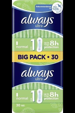 Always 30kpl Ultra Normal 1 terveysside