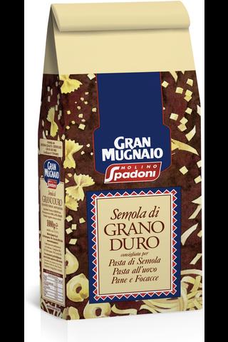 Molino Spadoni Gran Mugnaio 1kg durumvehnäjauhoja