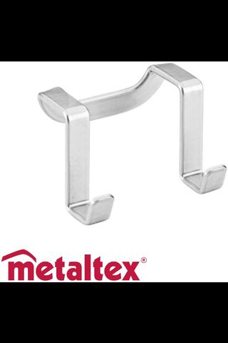 Metaltex Oasis tuplakoukku 6x4x4cm