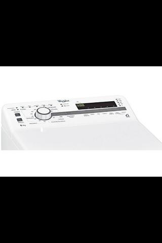 Whirlpool päältä täytettävä pyykinpesukone TDLR 60221 F