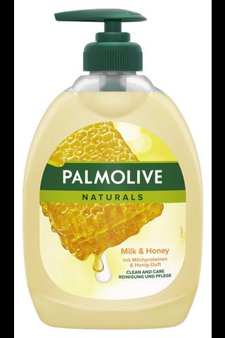 Palmolive Naturals Milk & Honey nestesaippua 500ml