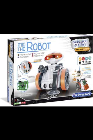 Clementoni Mio the robot 2.0 robotti ohjelmoitava
