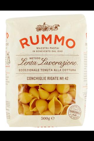 Rummo 500g Conchiglie Rigate No 42 pasta