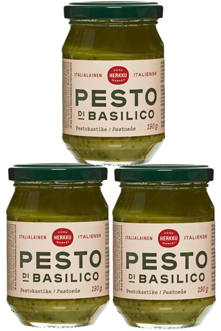 Herkku 190g Pesto Di Basilica pestokastike