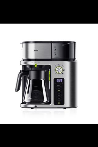 Braun KF9170SI MultiServe kahvinkeitin