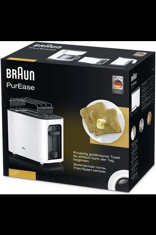 Braun HT3010WH PurEase leivänpaahdin valkoinen
