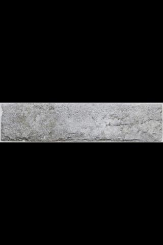 LVN 15 Brick harmaa 6X25 Lasitettu Laatta
