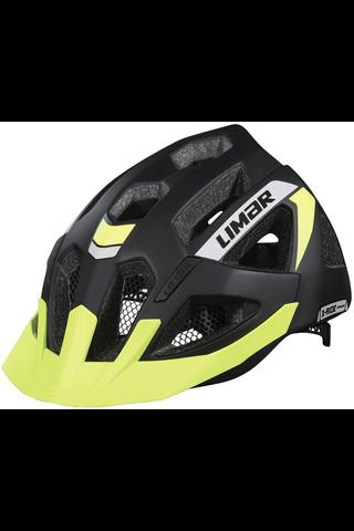 Limar X-RIDE Sport pyöräilykypärä musta heijastavin detaljein 52-57cm
