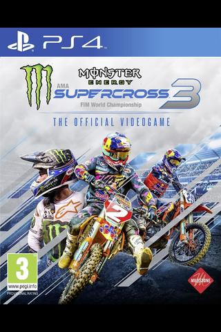 Playstation 4 Monster Energy Supercross 3