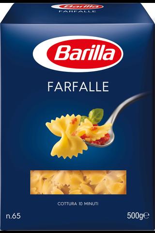 Barilla Farfalle durumvehnästä valmistettu pasta 500g