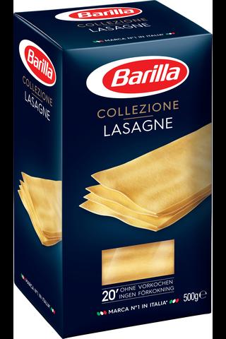 Barilla Lasagne durumvehnästä valmistettu pasta 500g