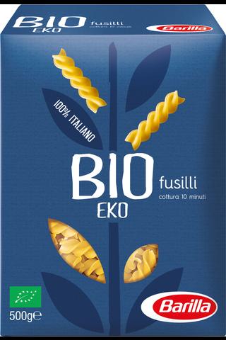 Barilla 500g Luomu Fusilli Durumvehnästä valmistettu luomu pasta
