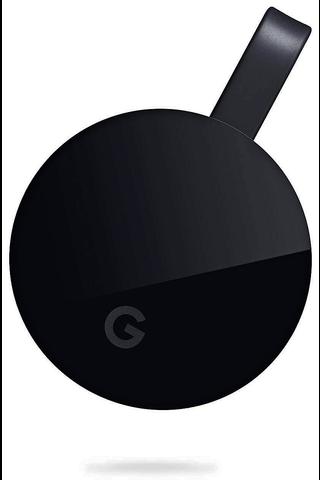 Google Chromecast Ultra langaton mediatoistin
