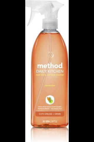 Method 828ml puhdistussuihke keittiön pinnoille klementiini