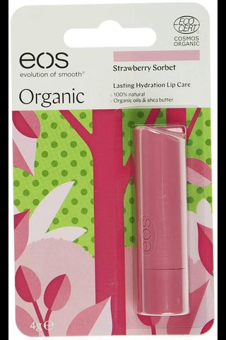 EOS 4g huulivoide mansikkasorbetti