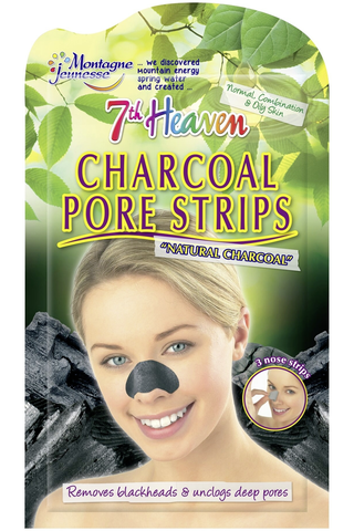 MJ 3x Natural Charcoal Nose Pore Strips