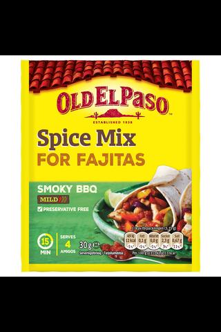 Old El Paso 30g Fajita Spice Mix maustesekoitus Smoky BBQ
