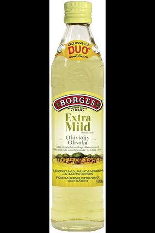 500ml Borges Extra Mild mieto oliiviöljy