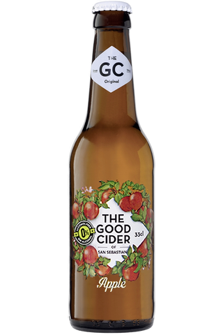 The Good Cider of San Sebastian Apple 0% 33cl