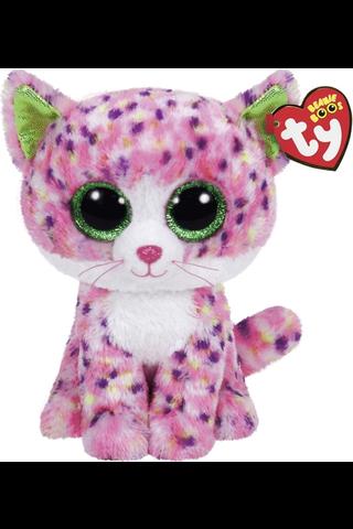 Ty Sophie vaaleanpunainen kissa pehmo 22 cm