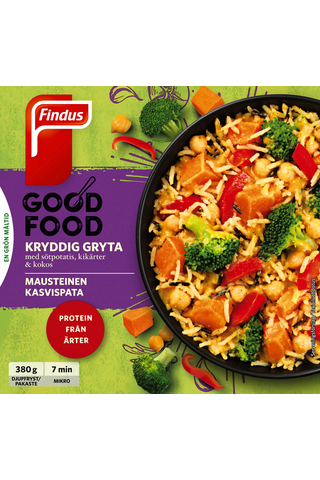 Findus 380g Good Food Mausteinen kasvispata